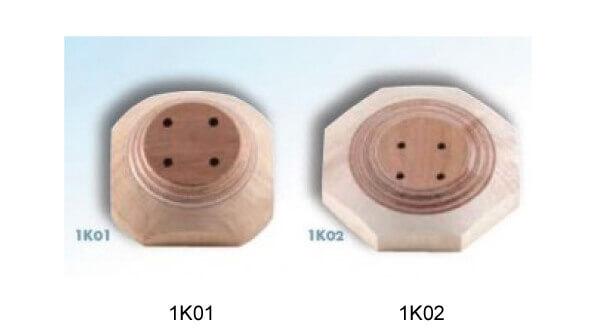 <b>義足用構造部品</b><br>ソケット取付用ブロック
