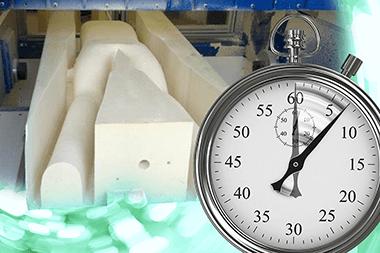 イメージ画像: 卓越した切削スピードにより時間効率も最適化するイメージ