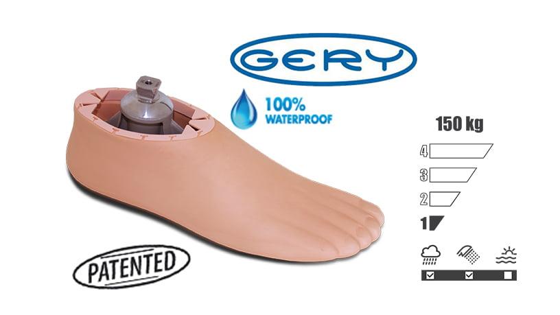 <b>極低活動者向け足部</b><br>1A200 GERY FOOT